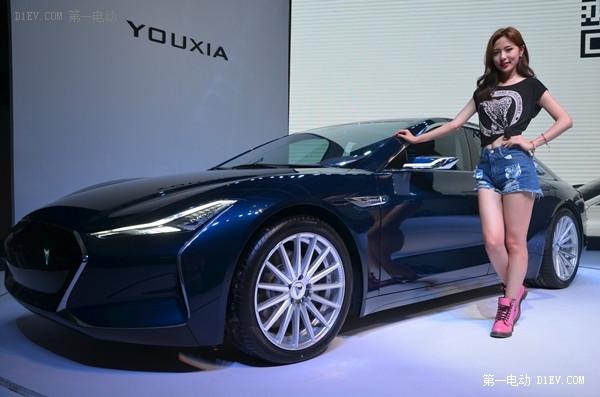 续航460km!中国首款互联网汽车游侠X电动轿跑发布