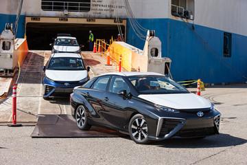 新金蛋?丰田Mirai氢燃料电池车在美国10天接单600张