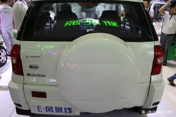 济南车展特别报道| 永源E-风景线解读