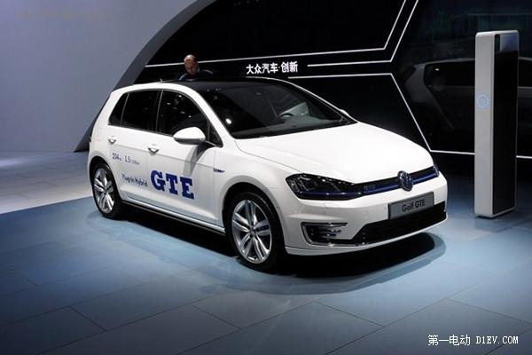 大众高尔夫GTE将于9月4日公布预售价格
