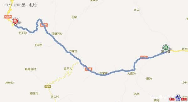 往返290公里 比亚迪E6京西小龙门-爨底下-悬空寺两日游记