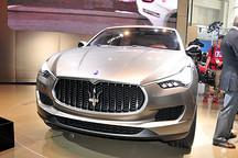 两年后推混动版本 玛莎拉蒂首款SUV将在日内瓦车展登场