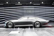 变形车尾无风阻 奔驰IAA概念车玩起空气动力学