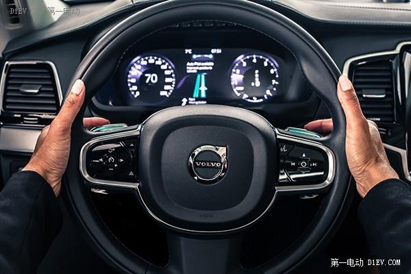 安全/智能/无缝对接 沃尔沃发布自动驾驶汽车人机界面系统