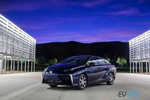 只需静静欣赏 丰田mirai氢动力汽车