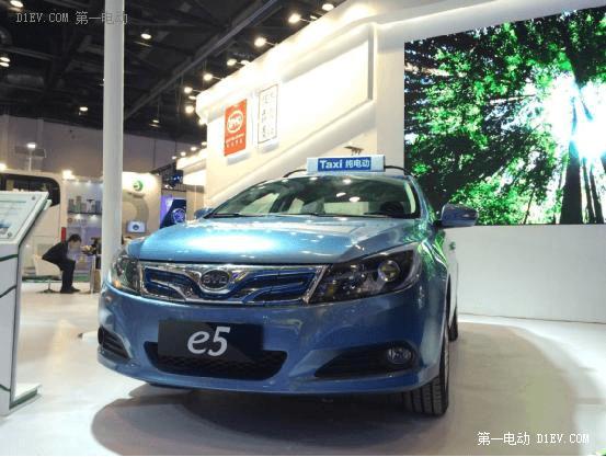 商用乘用齐发力 比亚迪亮相国际新能源汽车成果展