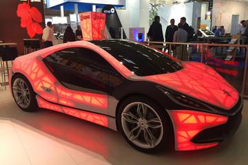 超乎你想象!2015德国eCarTec电动车展的酷玩新品