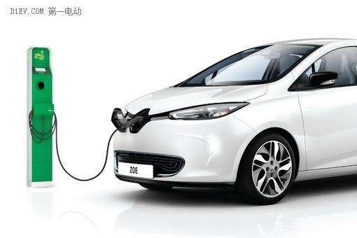 法国雷诺ZOE电动汽车