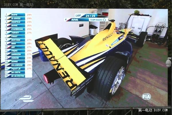 雷诺终夺冠 2015Formula E电动方程式观赛记
