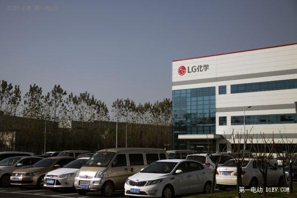 LG化学在南京的新能源汽车电池工厂