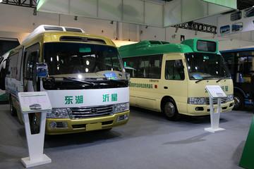 东湖沂星多款电动客车上阵 规划实现2万辆年产能力