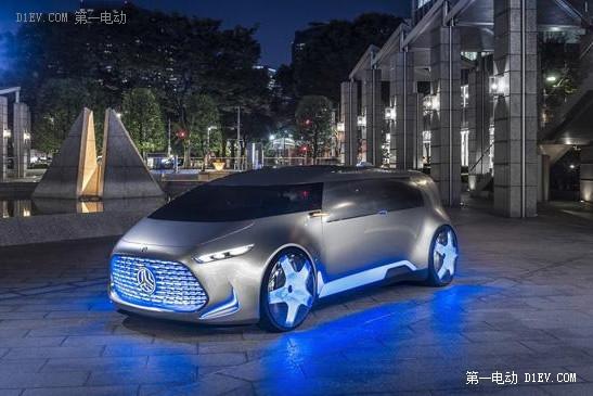 奔驰Vision Tokyo概念车发布 配氢燃料电池续航980公里