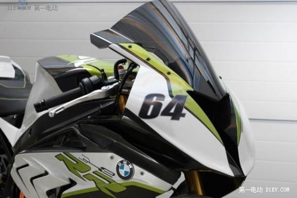 机车迷的福利来了 宝马推出纯电动超级运动摩托车