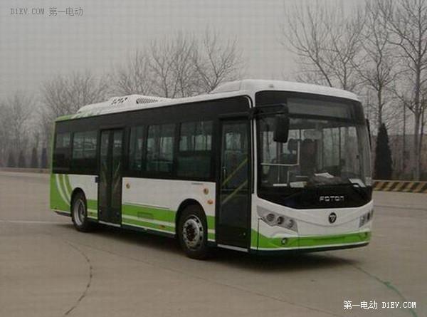 【2015绿色汽车评选】纯电动客车-福田 欧辉BJ6860EVCA