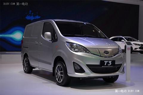【2015绿色汽车评选】电动物流车-比亚迪 T3