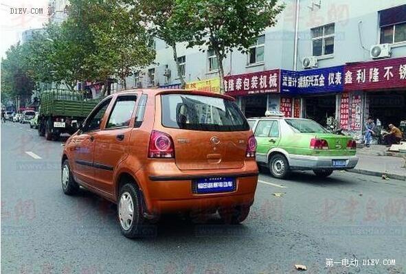 安徽省将出台低速电动汽车管理方面的地方性规章