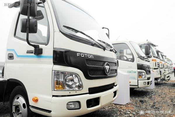 新能源商务车发展新势力:一大波纯电动卡车项目相继落成