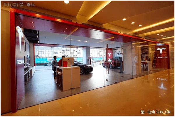 2015收官之作:特斯拉北京华贸体验店圣诞节正式开业