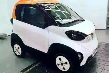 宝骏E100纯电动车谍照曝光  将于2016年10月上市