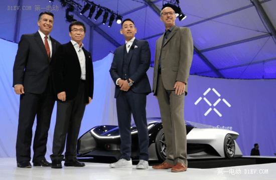 Faraday Future展台人气爆棚 首款概念车斩获多项CES大奖