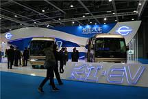 首届全球新能源汽车大会(广州)交易展开幕 全产业链齐亮剑