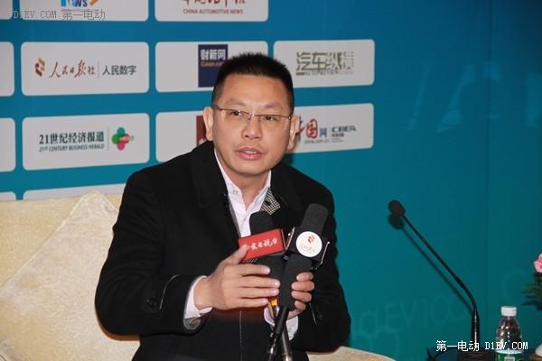 知豆电动汽车总裁鲍文光