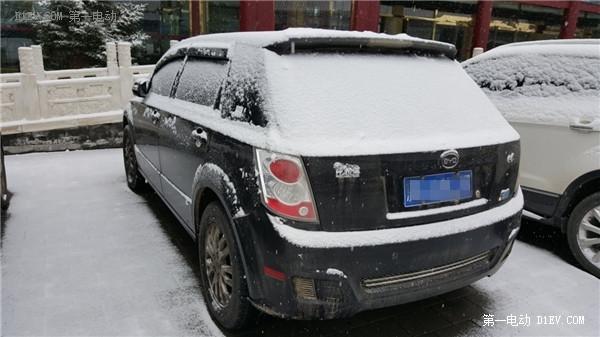 """暴雪的周末比亚迪E6""""佛罗伦萨""""两日游记实录"""