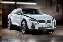 纯电SUV 宝马i5效果图曝光 叫板特斯拉Model X