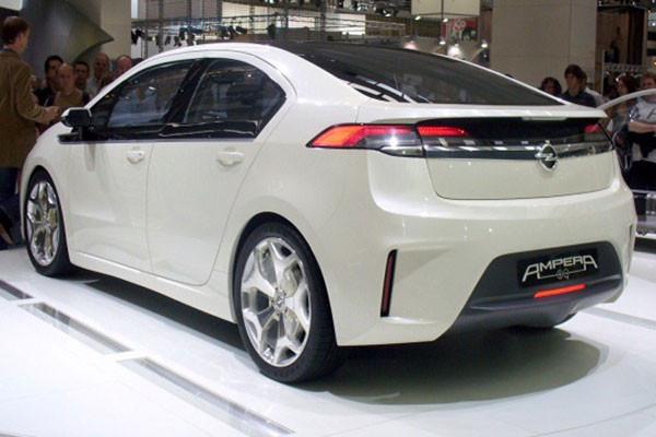 欧宝经济型电动汽车Ampera-e明年量产