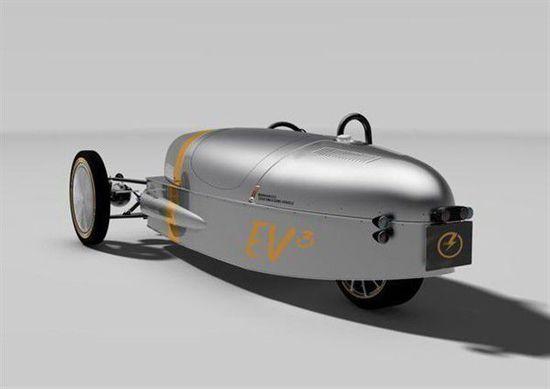 摩根EV3量产版预告图 日内瓦车展亮相