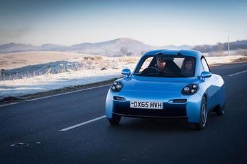 又来一款氢动力汽车  英国Riversimple发布Rasa双座小型车