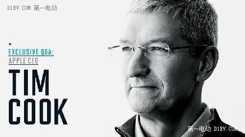 苹果CEO库克首度回应iCar:将寻求制造商代工苹果汽车