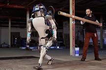 谷歌发布Atlas机器人 可像人类正常站立行走