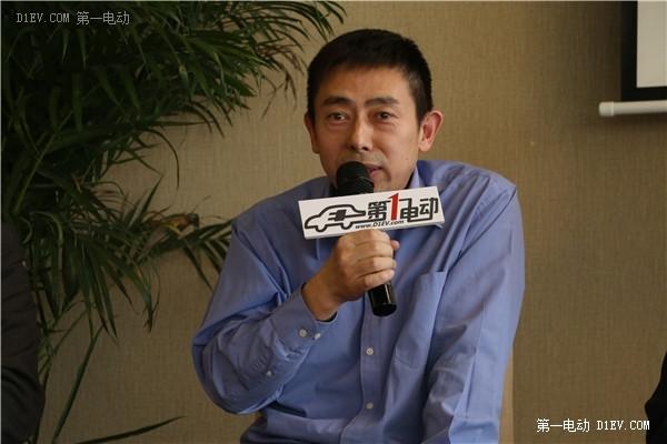 北京波士顿电池技术有限公司高级总监马俊峰