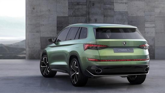 综合油耗1.9L 斯柯达新概念车日内瓦发布