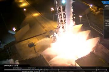 SpaceX 火箭火都点了,却在最后一秒紧急取消