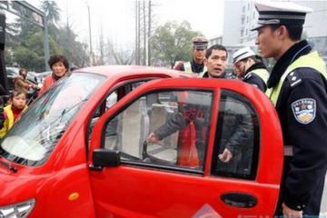 河南商丘再次开展低速电动车整治行动  遏制反弹现象