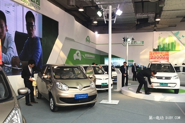 易灵亮相山东新能源汽车展