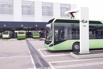 ABB电动公交车自动快充系统:充电4-6分钟,运行一整天