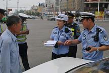 山东济宁开展交通百日整治行动  电动四轮车违规将被扣车