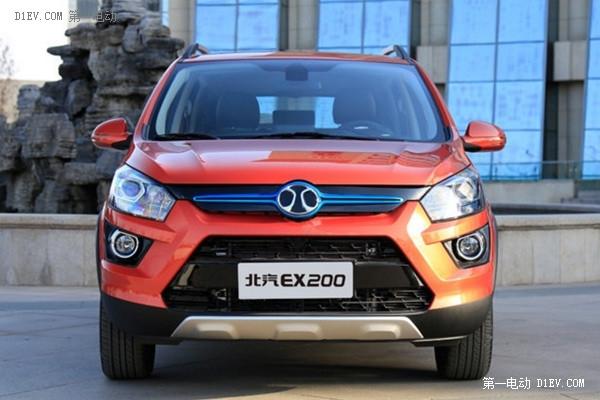 又一款高颜值纯电动SUV 北汽新能源EX200预售开启