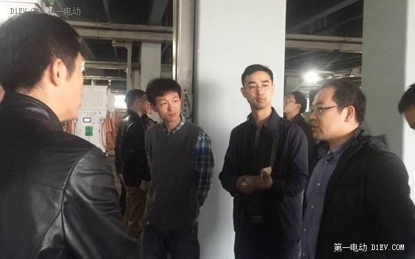 追日电气承建上海漕宝公交充电项目通过国务院督察组检查