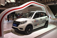 颜值与实力并存 德瑞博南京车展推出三款微型电动SUV新品