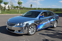 接触未来 长安无人驾驶汽车试乘体验