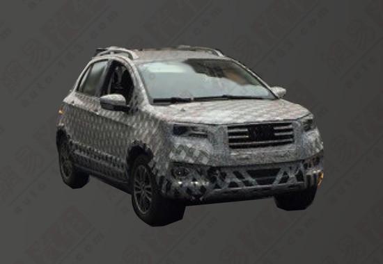 长城首款纯电动SUV曝光