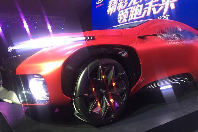 奇瑞FV2030概念车发布 采用欧翼车门
