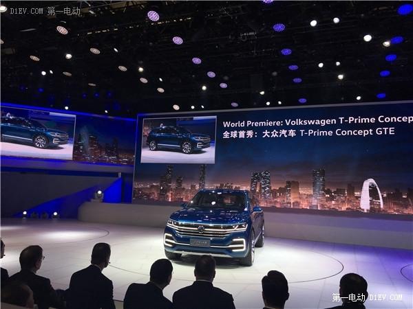 北京车展:大众新一代T- Prime GTE概念车全球首发