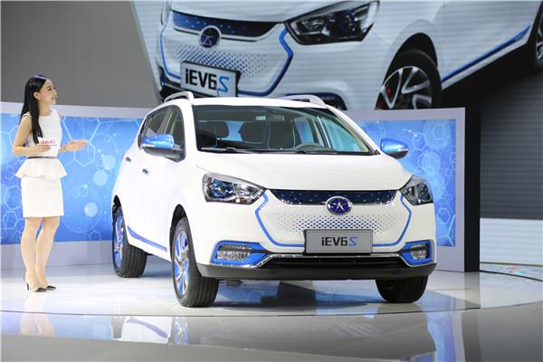 江淮iEV6S于北京车展正式上市 真的只要10.98万元