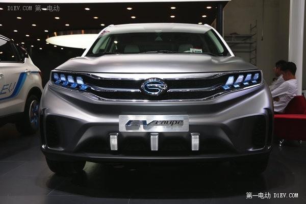 广汽传祺EV Coupe电动概念车