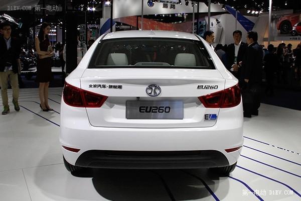 北汽新能源EU260北京车展再度亮相